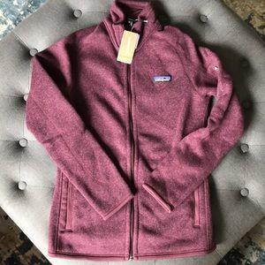 Patagonia Magenta Better Sweater, NWT